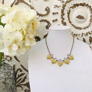 Loft Marigold Yellow Statement Necklace